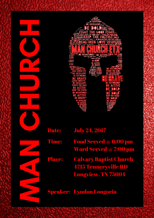 Man Church July 2017