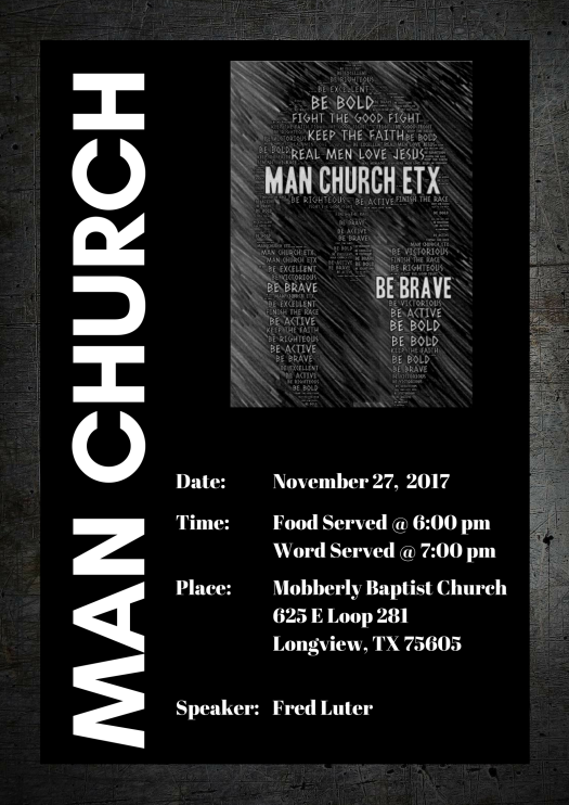 Man Church November 2017